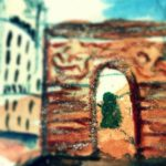 Old Wall Gate enhanced